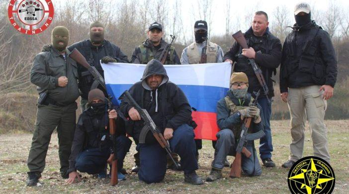 Курс по огневой и тактико-специальной подготовке в Сербии