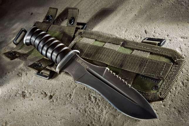 Основы самозащиты от угроз холодным оружием