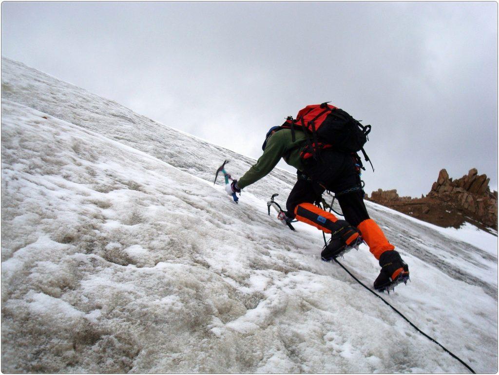 Ледник Курс горной подготовки