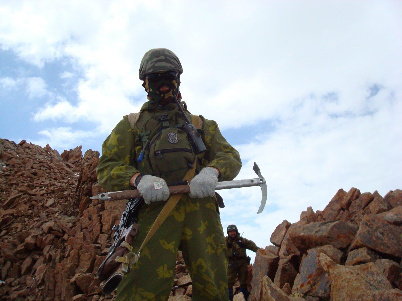 Снайпер Курс горной подготовки